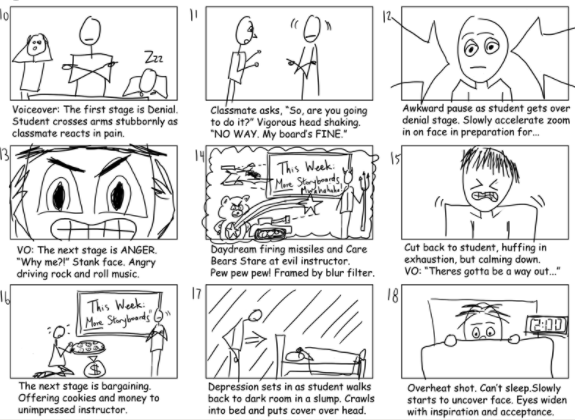 Collaborative Feedback with Storyboards